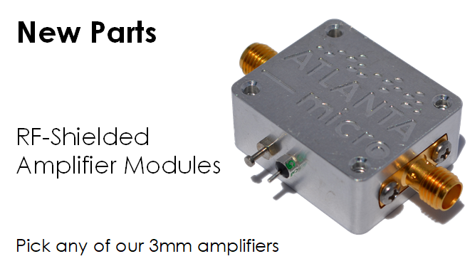 New Amplifier Modules