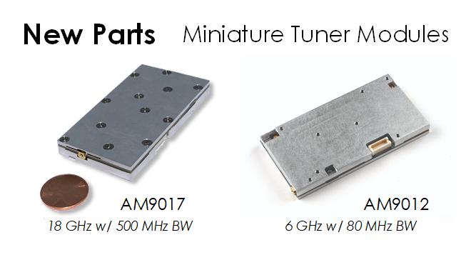 Miniature Module Tuners